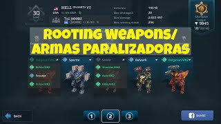 Brand New Rooting Weapons/ Estrenando Armas Paralizadoras