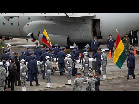 Θρήνος και ερωτήματα για την αεροπορική τραγωδία στην Κολομβία