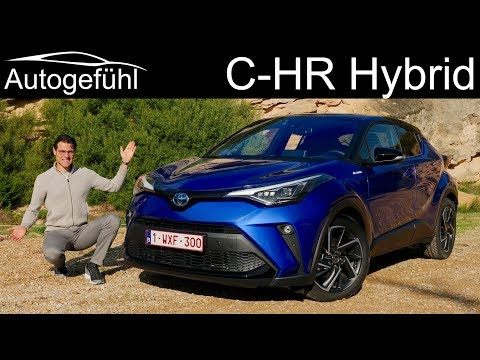 Toyota C-HR Facelift FULL REVIEW with the new 2.0 Hybrid 2020 - Autogefühl