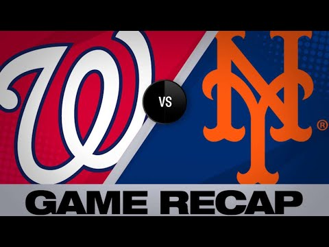 5/22/19: Lagares' 3-run double in 8th lifts Mets past