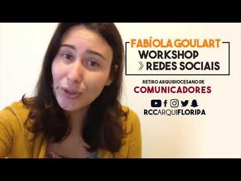 Retiro Arquidiocesano de Comunicadores   Workshop: Redes Sociais