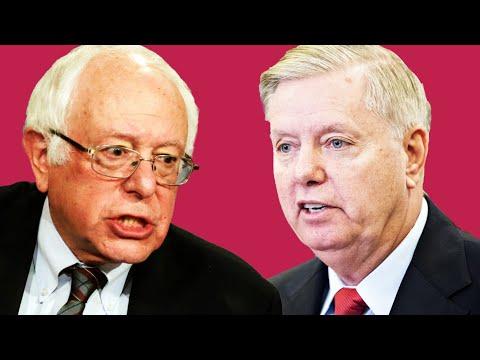 """Lindsey Graham ATTACKS Bernie: Make Him """"Miserable""""!"""
