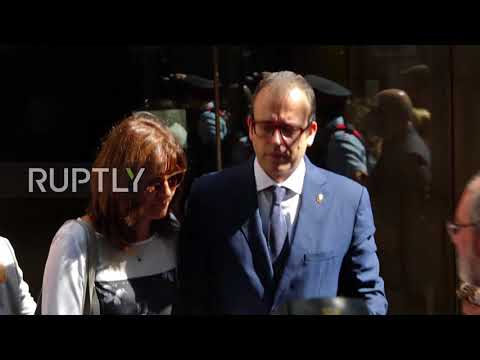 Spain: Catalan mayor remains silent in court during referendum questioning