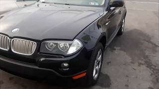 BMW X3 Battery Location & How to Jump Start