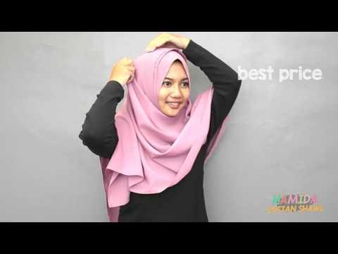 Video Tutorial Pashmina Instan Hamida by Aisha Hijab
