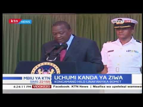 Rais Uhuru Kenyatta ahotubia kongamano ya uchumi wa kanda ya ziwa