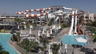 preview picture of video 'CORAL SEA WATERWORLD , Big New Water Park , Egypt 2015'