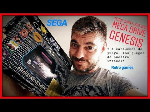 Consola clon mega drive
