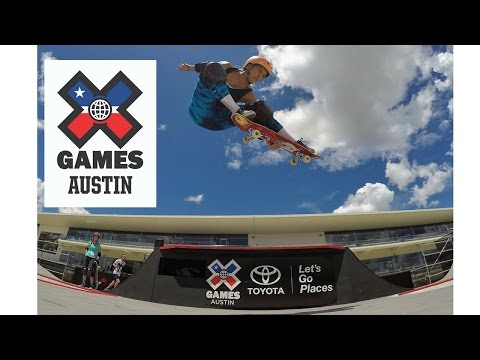 Hunter Long X GAMES AUSTIN 2016 // Women's Skateboard Park