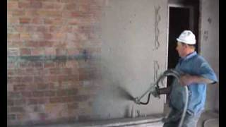 Mortar Spraying Machine Β2 - Pre Spray (First Layer) Ektoxeftis S.A