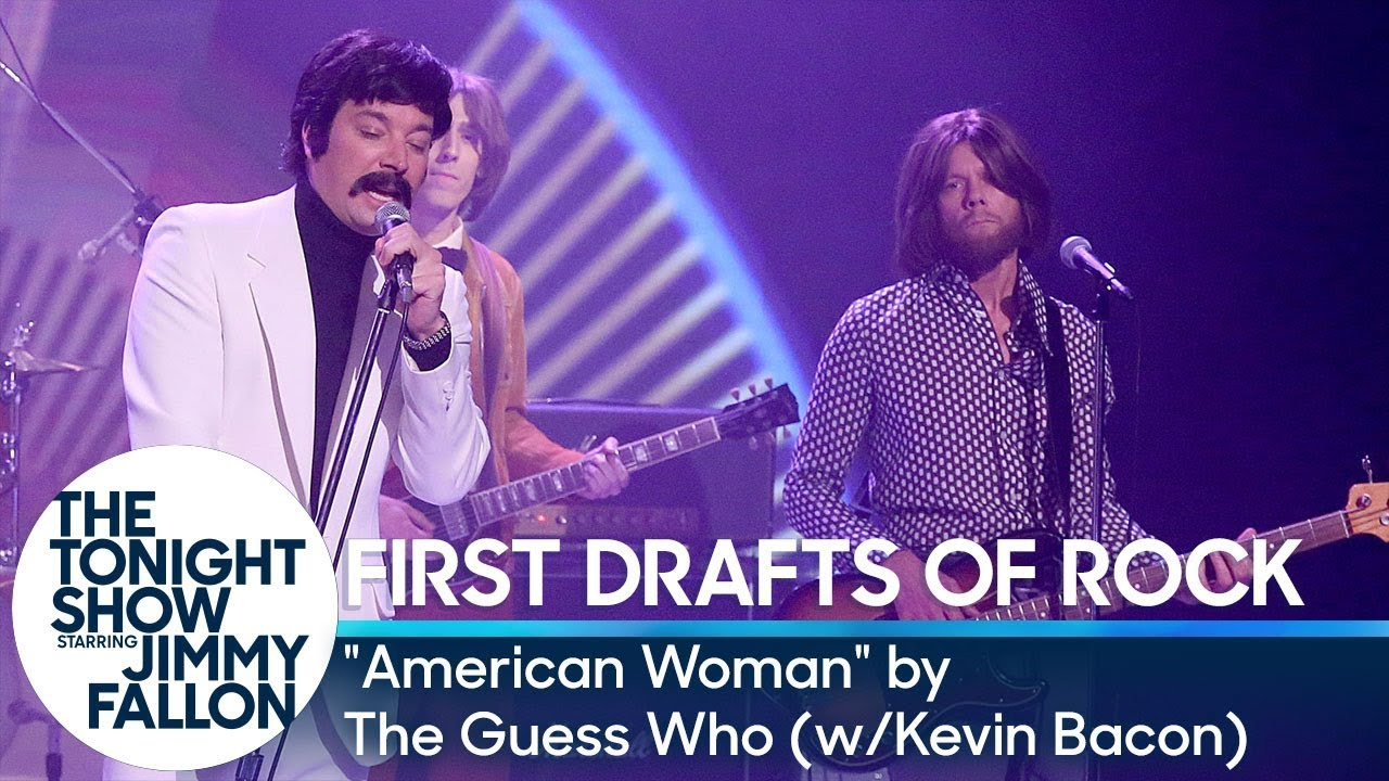 """First Drafts of Rock: """"American Woman"""" by The Guess Who (w/ Kevin Bacon) thumbnail"""