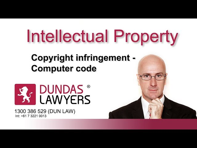 Copyright infringement in computer code