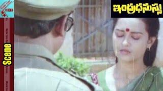 Jeevitha Enquiry To Raja Sekhar || Indradhanussu Movie || Rajashekar, Jeevitha || MovieTimeCinema