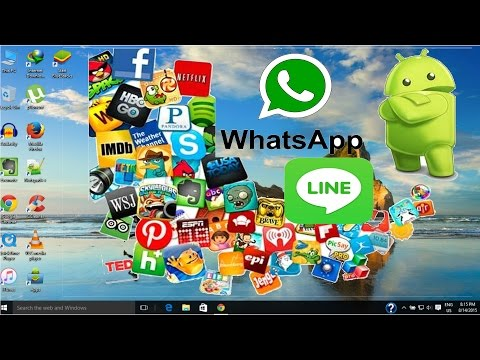 How to Run Android Apps on Windows 10/8.1 - Pc/Laptops