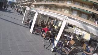 preview picture of video 'GoPro bike ride in winter Torrevieja'