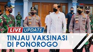 Presiden Jokowi Tinjau Vaksinasi di SMK PGRI Ponorogo, Kepsek: Ada 1.000 Siswa Divaksin Sinovac