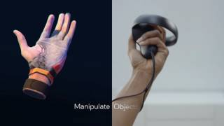 Oculus Touch - Hand Presence Technology
