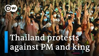 Thailand students protest government and monarchy   DW News