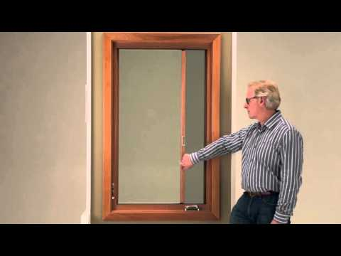 Push out casement windows marvin windows and doors for Marvin ultimate swinging screen door