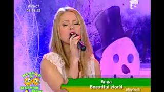 Anya - Beautiful World - Neatza cu Razvan si Dani 28.01.2011
