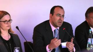 Jacob Katsman speaks at Exporta's 2013 Europe Trade & Supply Chain Finance Conference