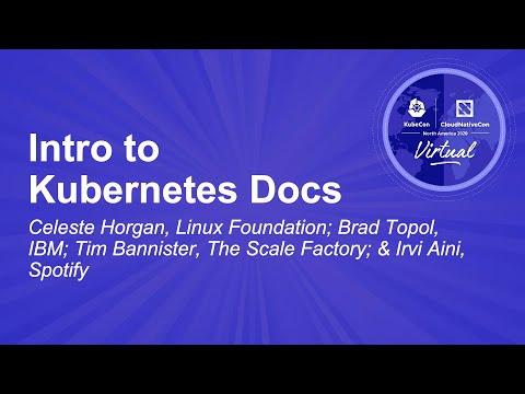 Image thumbnail for talk Intro to Kubernetes Docs