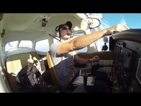 Cessna 172 | First Flight with New Paint | ATC Audio