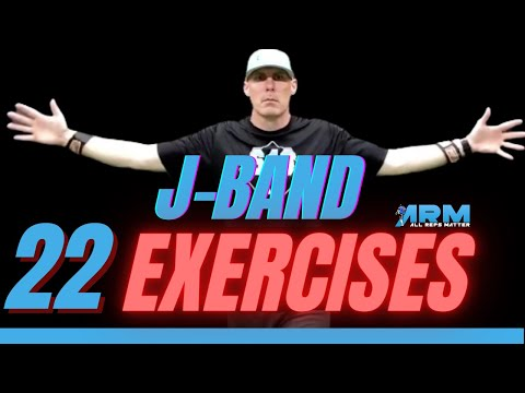 22 J-BAND Exercises For Baseball Pitchers Throwing Strength, Stability & Mobility