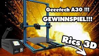 Geeetech A30 Gewinnspiel!!! //Rics_3D\\
