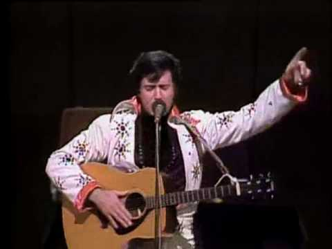 Andy Kaufman Does Elvis Presley