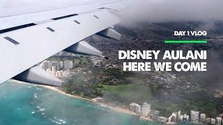 Disney Aulani Hawaii Vacation - Day 1 VLOG