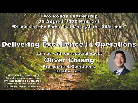 2RL Delivering Excellence; Episode 2: Delivering Excellence in Operations