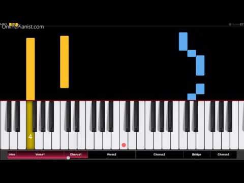 Online: Tove Lo Cool Girl Easy Piano Tutorial Chords Music Mp3