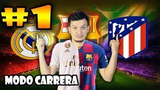 CAPITULO 1 - MODO CARRERA CON UN GRANDE DE LA LIGA SANTANDER - FIFA 20
