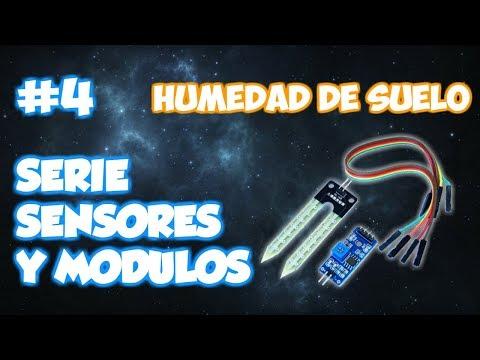 SERIE SENSORES Y MODULOS #4: SENSOR DE HUMEDAD DE SUELO HL-69 / YL-69