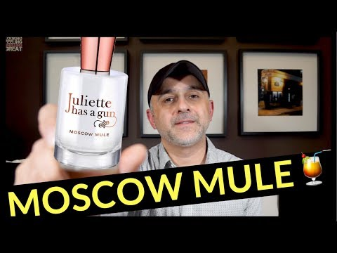 Juliette Has A Gun Moscow Mule Review  Full Bottle USA Giveaway