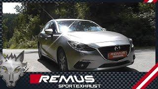 Video: Remus Duplex Endschalldämpfer für Mazda 3 BM ab Bj. 2013