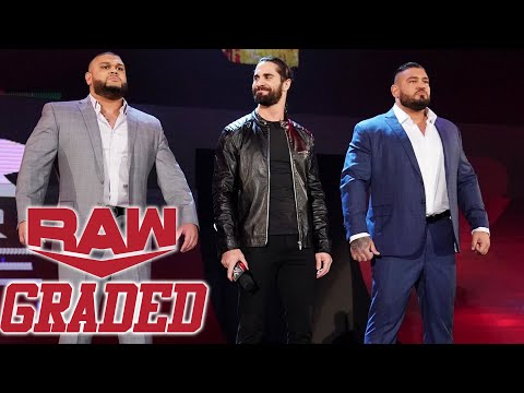 WWE RAW: GRADED (9th Dec)   TLC 2019 Go-Home, Seth Rollins Sides With AOP, Rusev & Lana Divorce