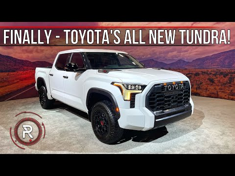 The 2022 Toyota Tundra Is A Fully Redesigned Electrified Big Truck Built For Americans