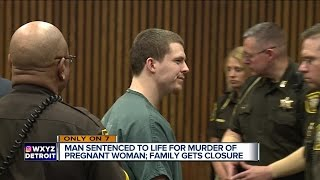 Man Sentenced To Life In Prison For Murder Of Pregnant Woman In Detroit Smirks At Family