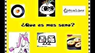 preview picture of video '¿Que es mas sano? Con los chicos de Ecoclub!'