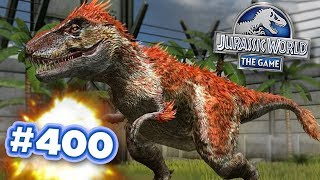Episode 400!!! | Jurassic World - The Game - Ep400 HD