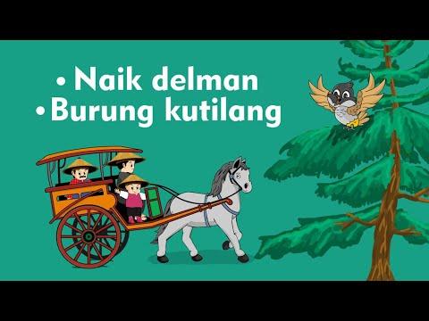 Naik delman istimewa   burung kutilang   lagu anak indonesia populer