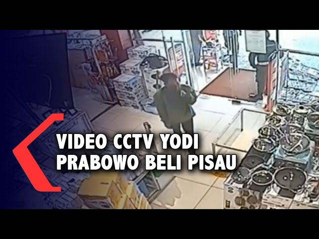 Full Video CCTV Editor MetroTV Yodi Prabowo Beli Pisau