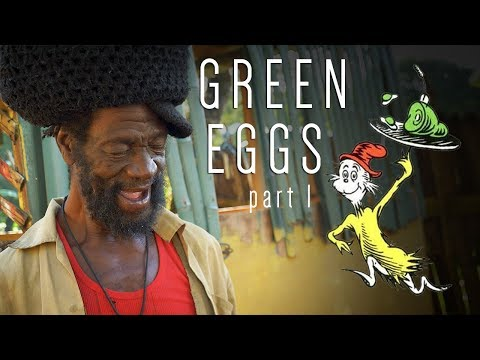 Green Eggs No Ham? Rasta Mokko's new dish in Jamaica!