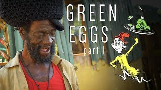 Green Eggs No Ham? Rasta Mokko's new dish in Jamaica!