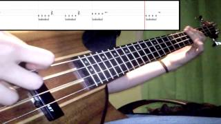 The Strokes - Machu Picchu (Bass Cover) (Play Along - Tabs In Video)