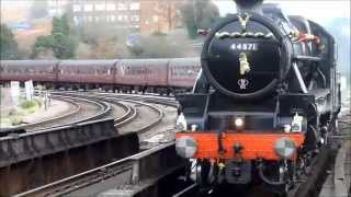 preview picture of video '44871 & 45407 chuffing through Tulse Hill'