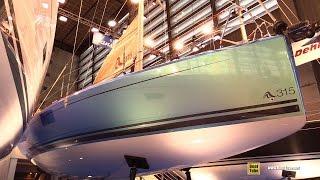 2016 Hanse 315 Sailing Yacht - Deck And Interior Walkaround - 2015 Salon Nautique De Paris
