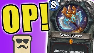Download Youtube: WOECLEAVER IS ACTUALLY GOOD?! | BIG WARRIOR | HEARTHSTONE | KOBOLDS AND CATACOMBS | DISGUISED TOAST